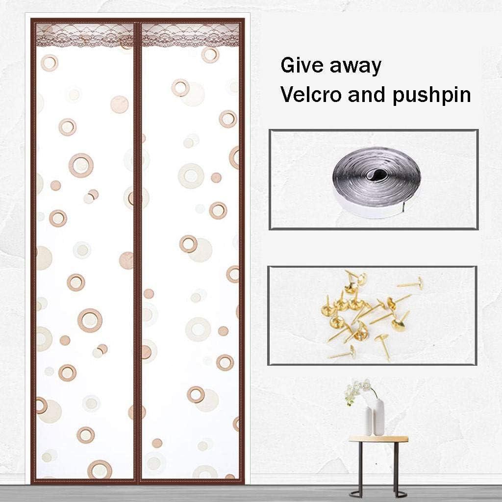 Fácil De Ensamblar Mosquitera Magnética Para Puertas, Puerta Corredera De Patio Puerta De Tela Metálica Para Puertas Cortina De Mosquitos para Niños Corredor Puertas Cocina-130x200cm(51x79inch)-A: Amazon.es: Bricolaje y herramientas