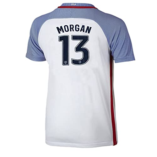 Iqrrn Morgan #13 USA National Womens Alex Home Jersey White