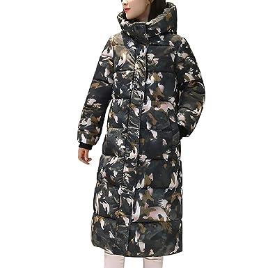 0ec76e59c11 Amazon.com  GONKOMA Clearance Women s Overcoat Warm Long Thickened Coats  Parkas Jacket Outwear Outdoor Coats  Clothing