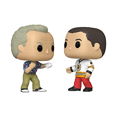 Funko Pop! Movies: Happy Gilmore - Happy and B.Barker 2-Pack, Multicolor (46849): Toys & Games