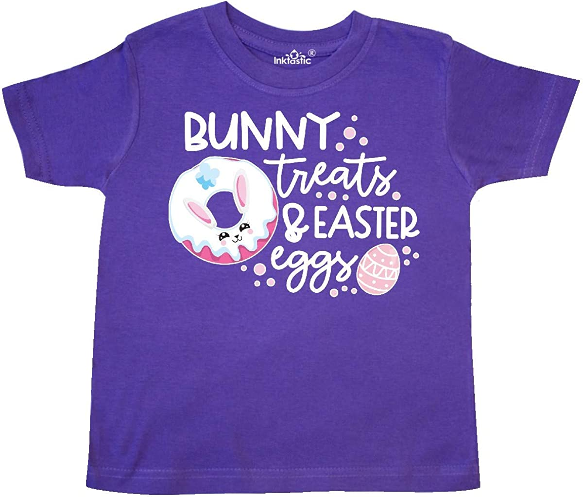 inktastic Easter Bunny Treats and Easter Eggs Toddler T-Shirt