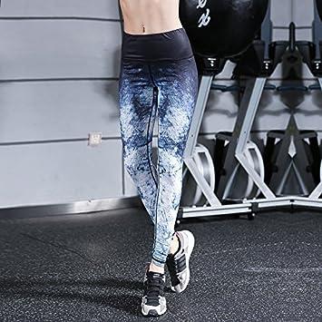 JIALELE Pantalon Yoga En Blanco Y Negro De Alto Camuflaje ...