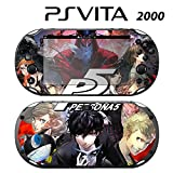 Decorative Video Game Skin Decal Cover Sticker for Sony PlayStation PS Vita Slim (PCH-2000) - Persona 5