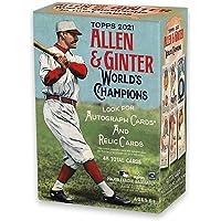 $25 » 2021 Topps Allen & Ginter MLB Baseball BLASTER Box (8 pks/box)