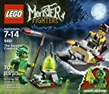 lego ghost house - LEGO Monster Fighters 9461 The Swamp Creature