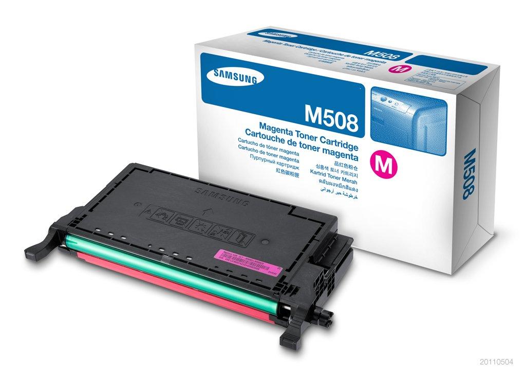Toner Original SAMSUNG CLT-M508L Magenta Alta Capacidad 4K