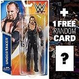 Undertaker: WWE Basic Series #55 + 1 FREE Official WWE Trading Card Bundle