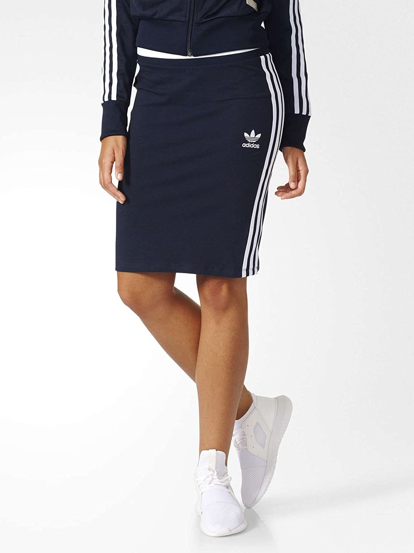 adidas 3S Midi Skirt Vestido, Primavera/Verano, Mujer, Color Mehrfarbig - (Tinley), tamaño 34 BJ8370
