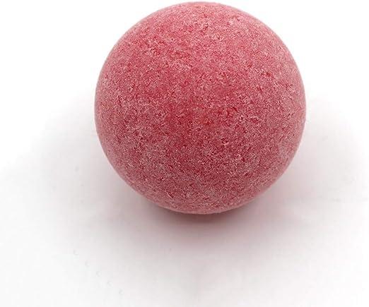 KEISL - Juego de 6 Bolas de fútbol de 36 mm, Color Rojo Mate, como ...