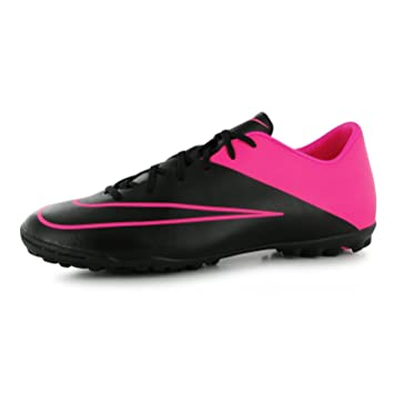 quality design 98e33 43e8c Nike Mercurial Victory Astro Turf Football Trainers Mens Black Pink Soccer  Shoes (UK10)