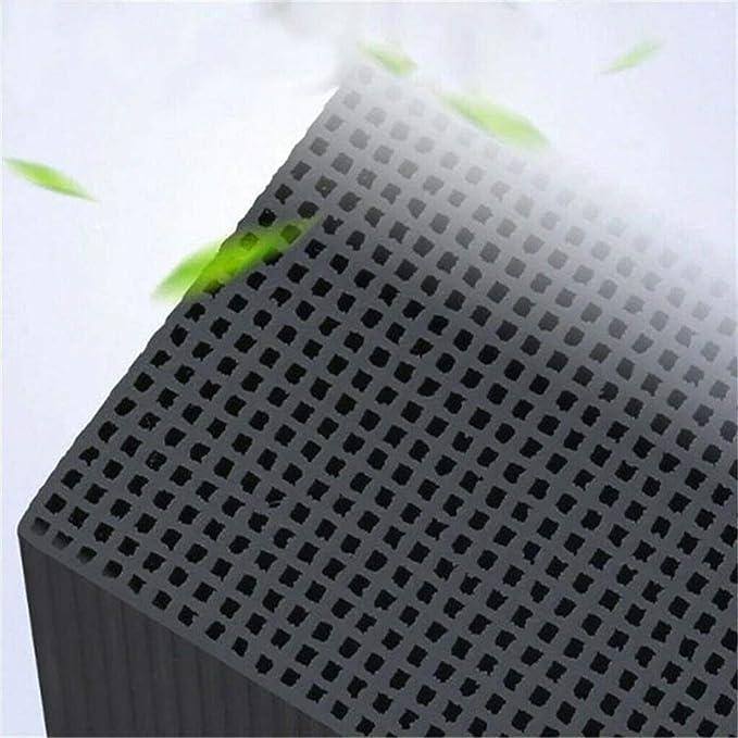 JIAJU purificador de Agua del Cubo Eco-Acuario, carbón Activado a ...