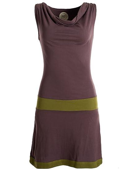 the latest 556d9 fc929 Vishes - Alternative Bekleidung - Ärmellose Tunika aus Biobaumwolle mit  Wasserfallkragen