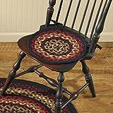 Park Designs Folk Art Braided Chair Pad