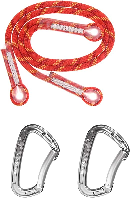 IPOTCH 2X Cuerda Prusik Loop de Precisión Cosido Escalada ...