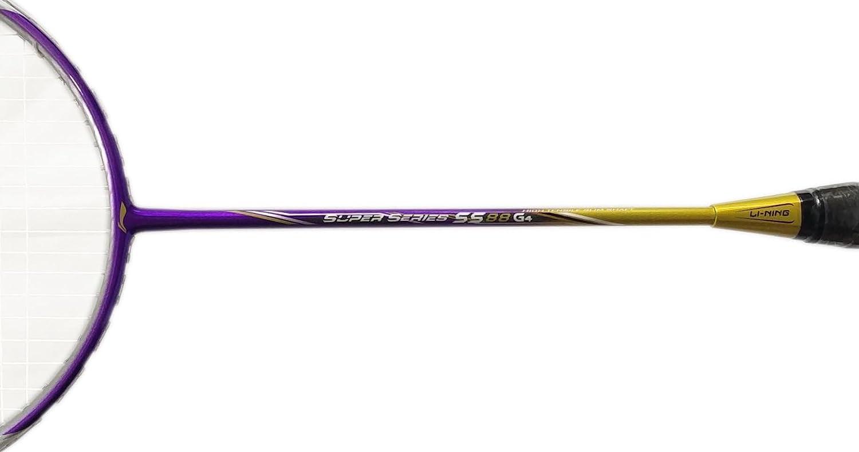 Buy Lining Super Series Ss 88 G4 Badminton Racket Strung Online At Raket Original 99 Plus Low Prices In India