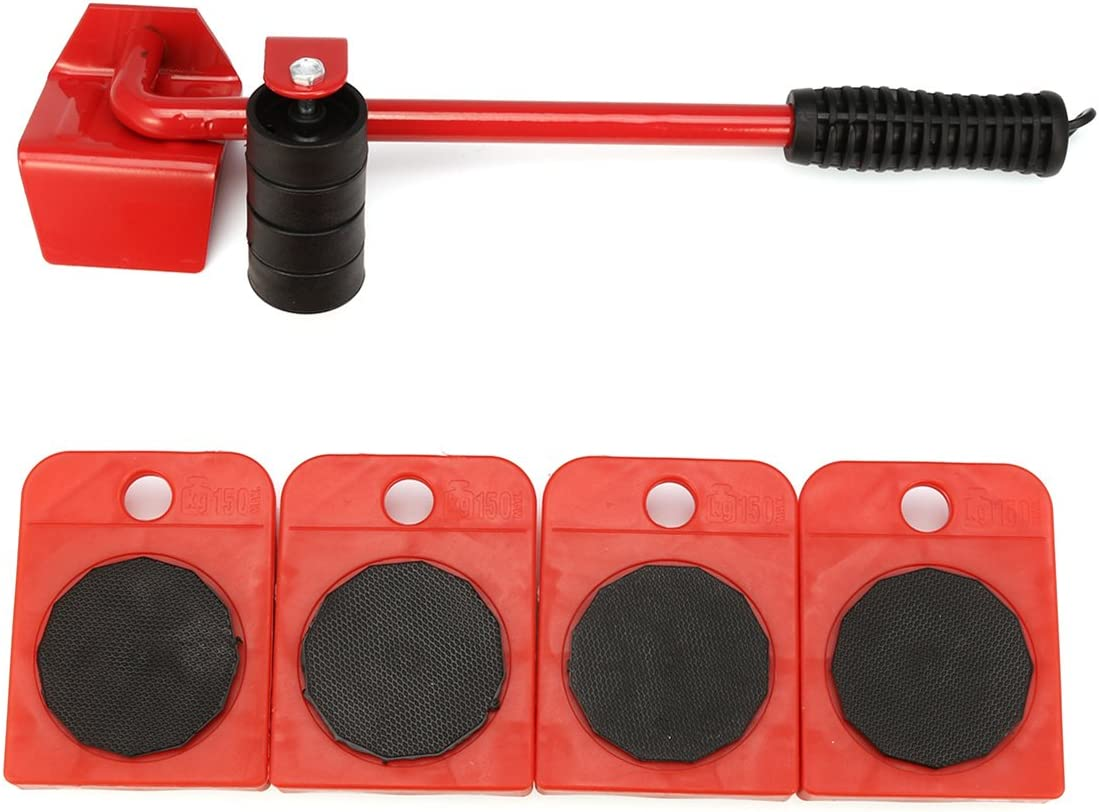 Werse Heavy Furniture Shifter Lifter Wheels Kit de movimiento Slider Mover Table sof/á lente de extracci/ón