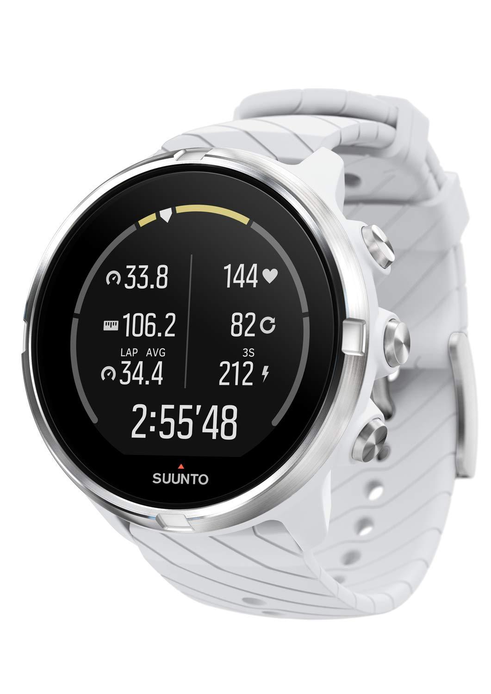 Suunto 9 Reloj, Unisex Adulto, Blanco, Talla Única: Amazon.es: Deportes y aire libre