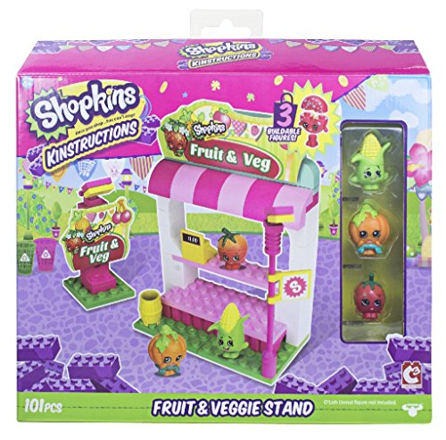 The Bridge Direct Shopkins Kinstructions Fruit & Veggie Stand