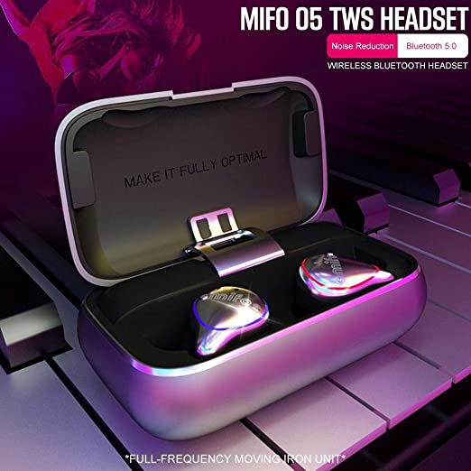Earthily Mifo O5 Bluetooth 5.0 Auriculares IPX7 Auriculares ...