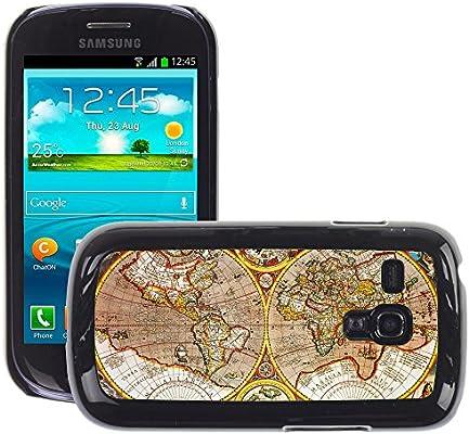 Print Motif Coque de protection Case Cover // V00002381 Mapa del mundo antiguo // Samsung Galaxy S3 MINI i8190: Amazon.es: Electrónica