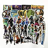 Fortnite Stickers 40pcs - Vinyl Fortnite Llama Stickers Decals for Laptop Car Motorcycle Bicycle Luggage Skateboard - Gaming Graffiti Sticker for Kids Gamers and Adult