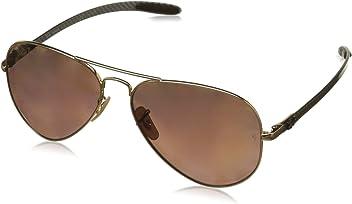 0ce82cb3b10 Ray-Ban RB8317CH Chromance Lens Aviator Sunglasses