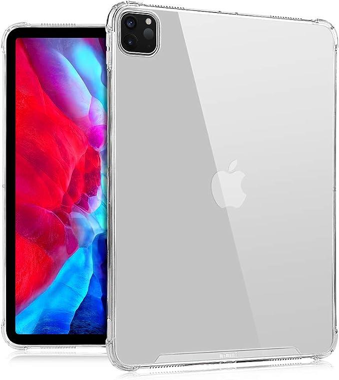 memumi para iPad Pro 11 2020 Funda Transparente Protectora Ultrafina Alta Definición PC Rígida y TPU Suave Carcasa Funda para iPad Pro 11 Pulgadas Case Translúcido [Absorción de Impactos]: Amazon.com.mx: Electrónicos
