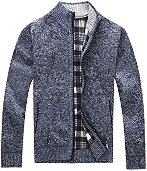 Msmsse Men&#39s Casual Knitted Cardigan Sweater