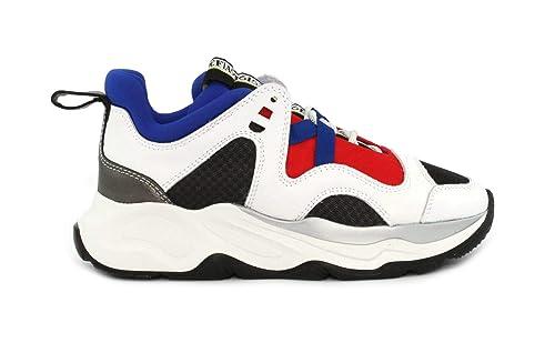 ea3f1172b2 Fabi Sneaker LAMAXI VAR. 5 Taglia 36 - Colore Bianco/Blu/Rosso ...