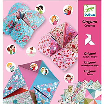 Amazon Origami Fortune Tellers Varios Toys Games