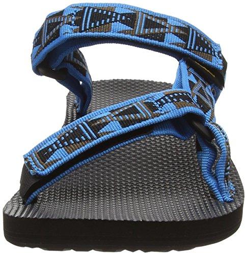 Teva Mens Sandalo Universale Mosaico Blu