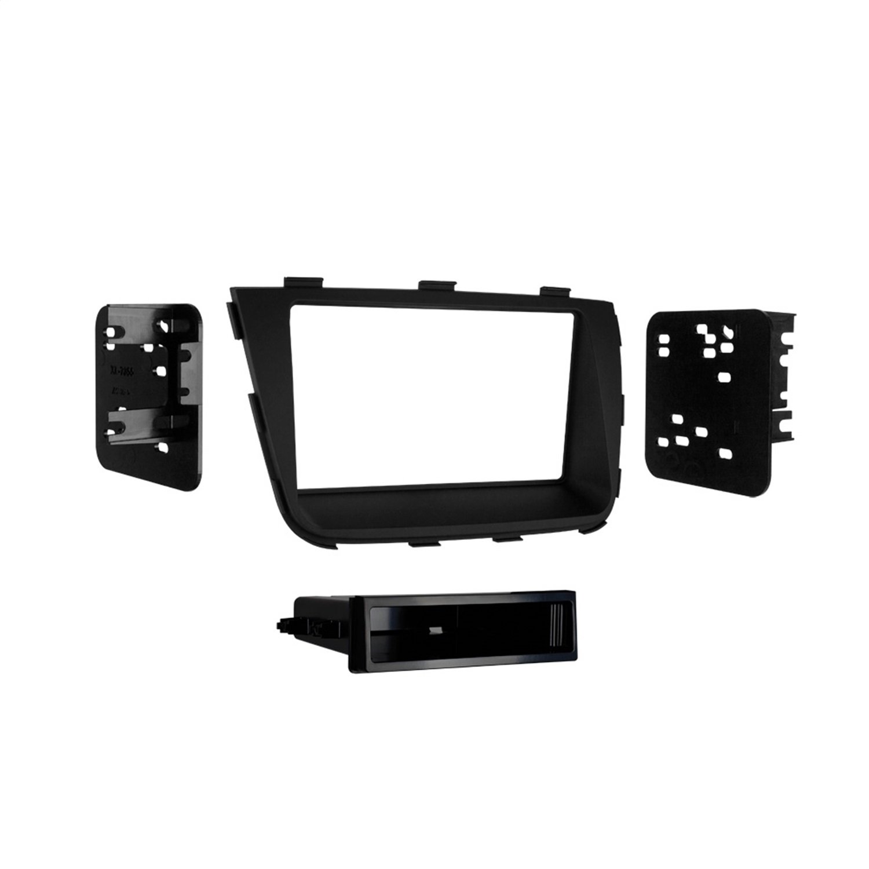 Metra 99-7355B Single and Double DIN Car Stereo Installation Dash Kit for 2014 and Up Kia Sorento (Black)