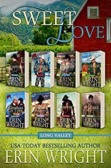 Sweet Love – Western Romance Boxset: Eight Clean Cowboy Love Stories by [Wright, Erin]