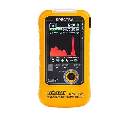Professional Radiation Dosimeter New SPRD SPECTRA MKS-11GN Search Geiger Counter Detector Radiometr: Amazon.com: Camera & Photo