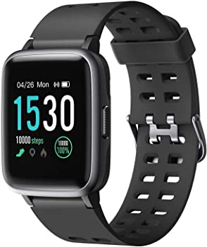 Letsfit Smart Watch Fitness Tracker with 1.3'' Touch Screen