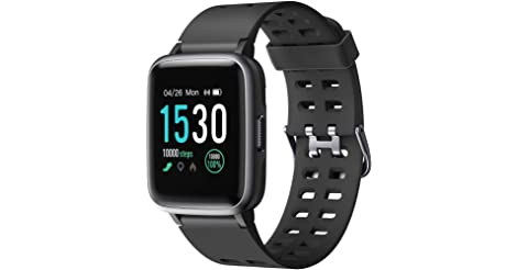 Letsfit Smart Watch Fitness Tracker with 1.3'' Touch Screen only $31.49