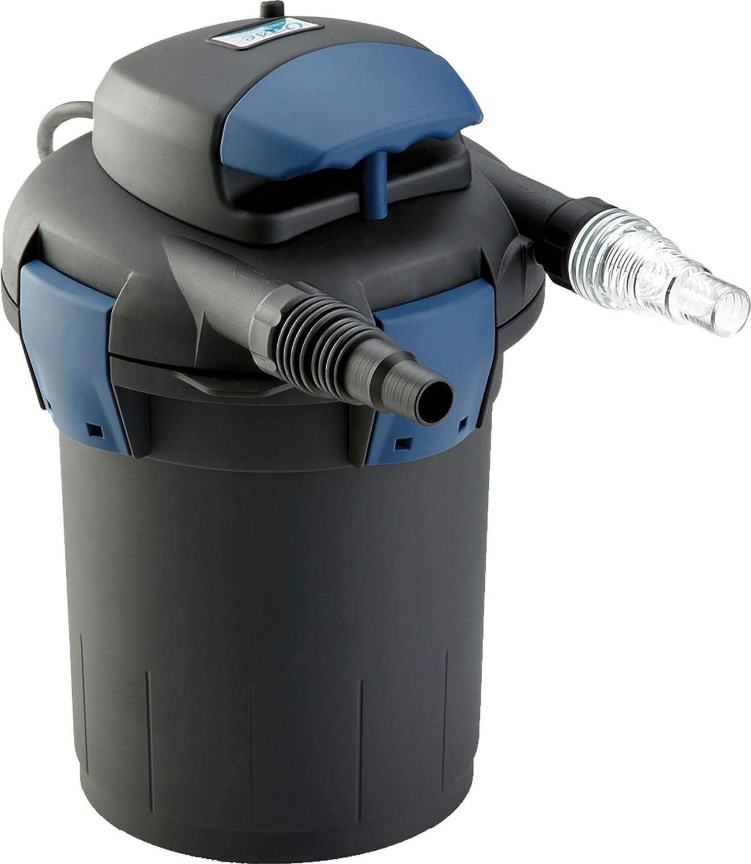 Biopress 1000 Pressurized Filter with Uv Black