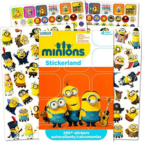 Minions Stickers Party Favors ~ 295 Reward (Minion Stickers)