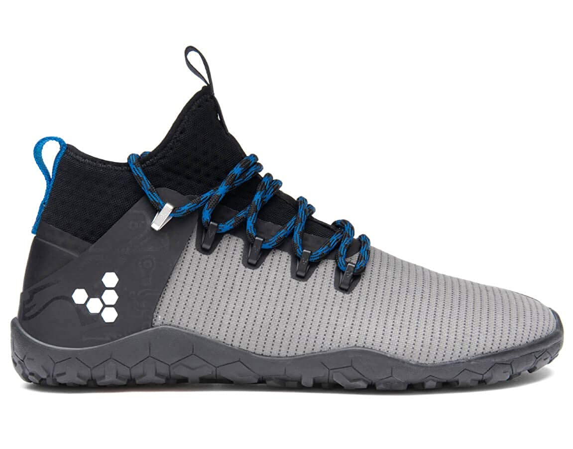 Grey Vivobarefoot Womens Magna Trail Textile Synthetic Trainers