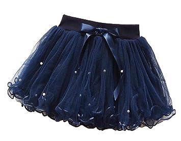 Black Temptation [Azul Oscuro] Falda de tutú para niña Falda de ...