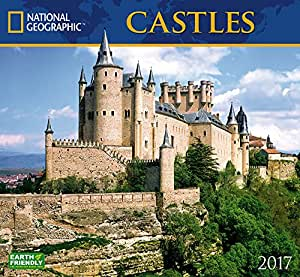 castles 2017 national geographic wall calendar office products. Black Bedroom Furniture Sets. Home Design Ideas