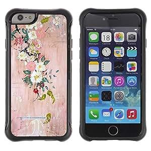 Suave TPU GEL Carcasa Funda Silicona Blando Estuche Caso de protección (para) Apple Iphone 6 PLUS 5.5 / CECELL Phone case / / Blossoming Tree Art Painting /