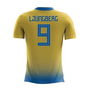 Camiseta de fútbol para niños 2018-2019 Suecia Airo Concept ...