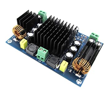 WINGONEER 150W TPA3116D2 Tablero audio estéreo del amplificador de energía del mono del poder más elevado DC12-24V para el teatro casero del coche DIY ...