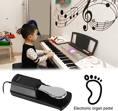 Piano Pedal de Sustain Pedal Universal amortiguador para ...