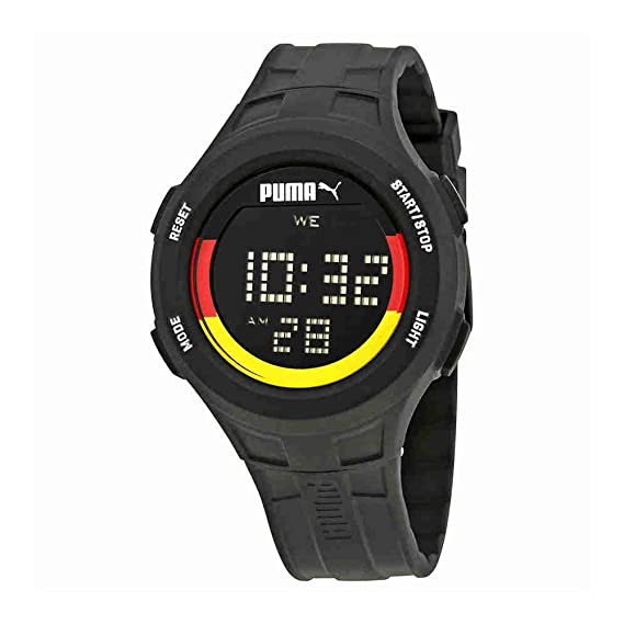 Hombre-Reloj PUMA Time 91130 - Alemania Cuarzo Digital plástico PU911301012: Amazon.es: Relojes