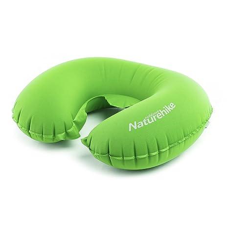 Naturehike portátil forma de U almohada hinchable dormir Gear ...