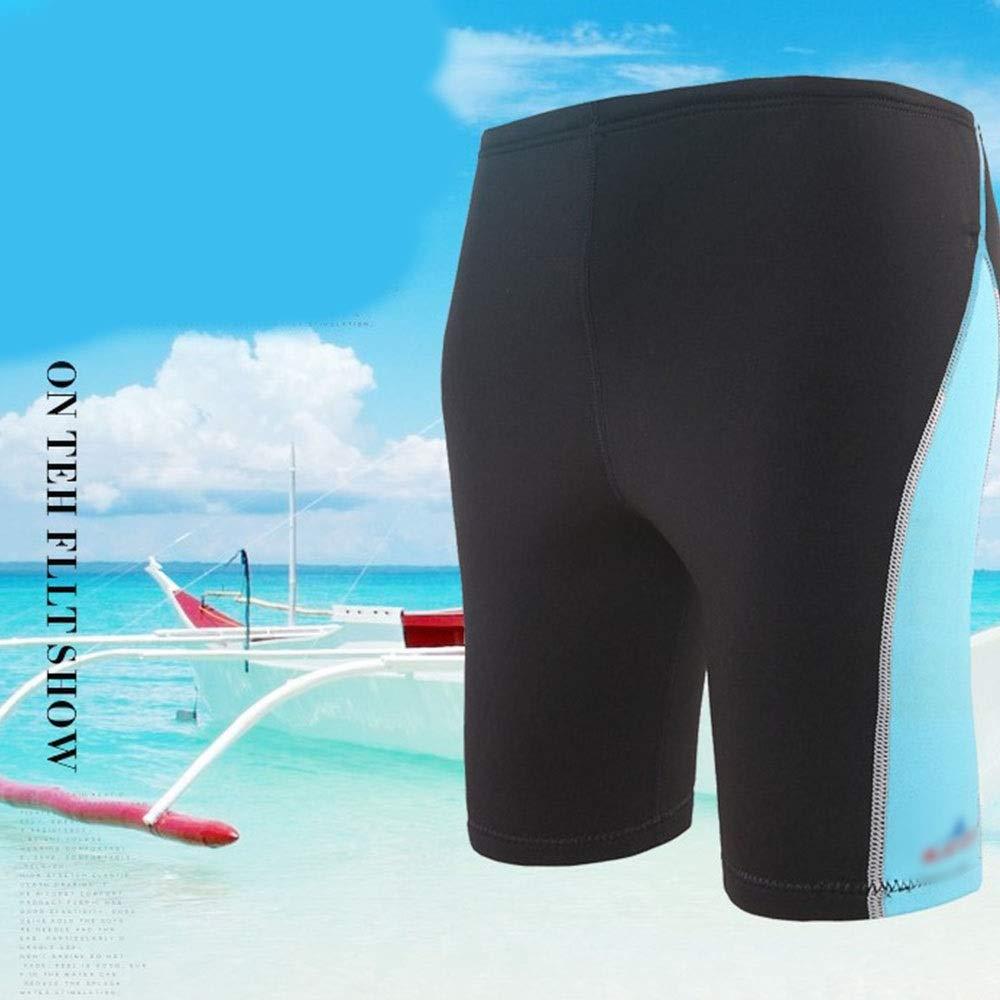 Farbe : Blau, Size : S WEATLY 1.8mm Tauchshorts Schnorchelhose Surfhose Badehose Segel Ruderboot