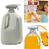 Automatic Drink Dispenser,Magic Eletric Tap Automatic Drink Dispenser,Fruit Milk Juice Spill-Proof Drinks Suck Tools For Home