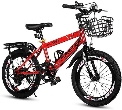 AJZGF Bicicletas niños Niños de Escuela Primaria Bicicleta ...